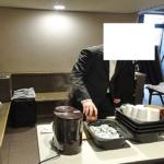 パパデカフェ試食販売報告